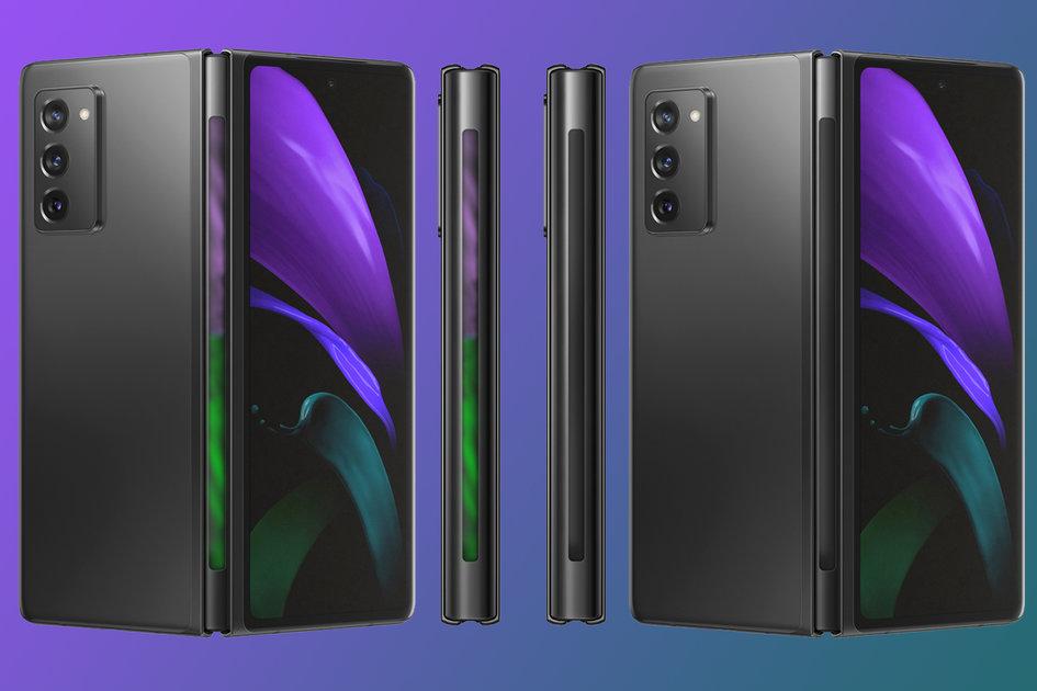 """Дизайнеры визуализировали Samsung Galaxy Z Fold 3 с третьим """"экраном"""""""