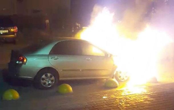 """Автомобиль журналистов """"Схем"""" загорелся не самопроизвольно, - отчет"""