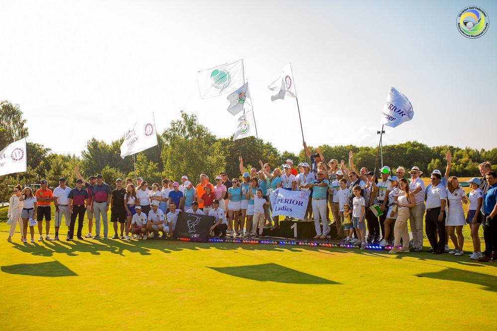 В Командном Чемпионате по гольфу приняли участие рекордное количество сп...