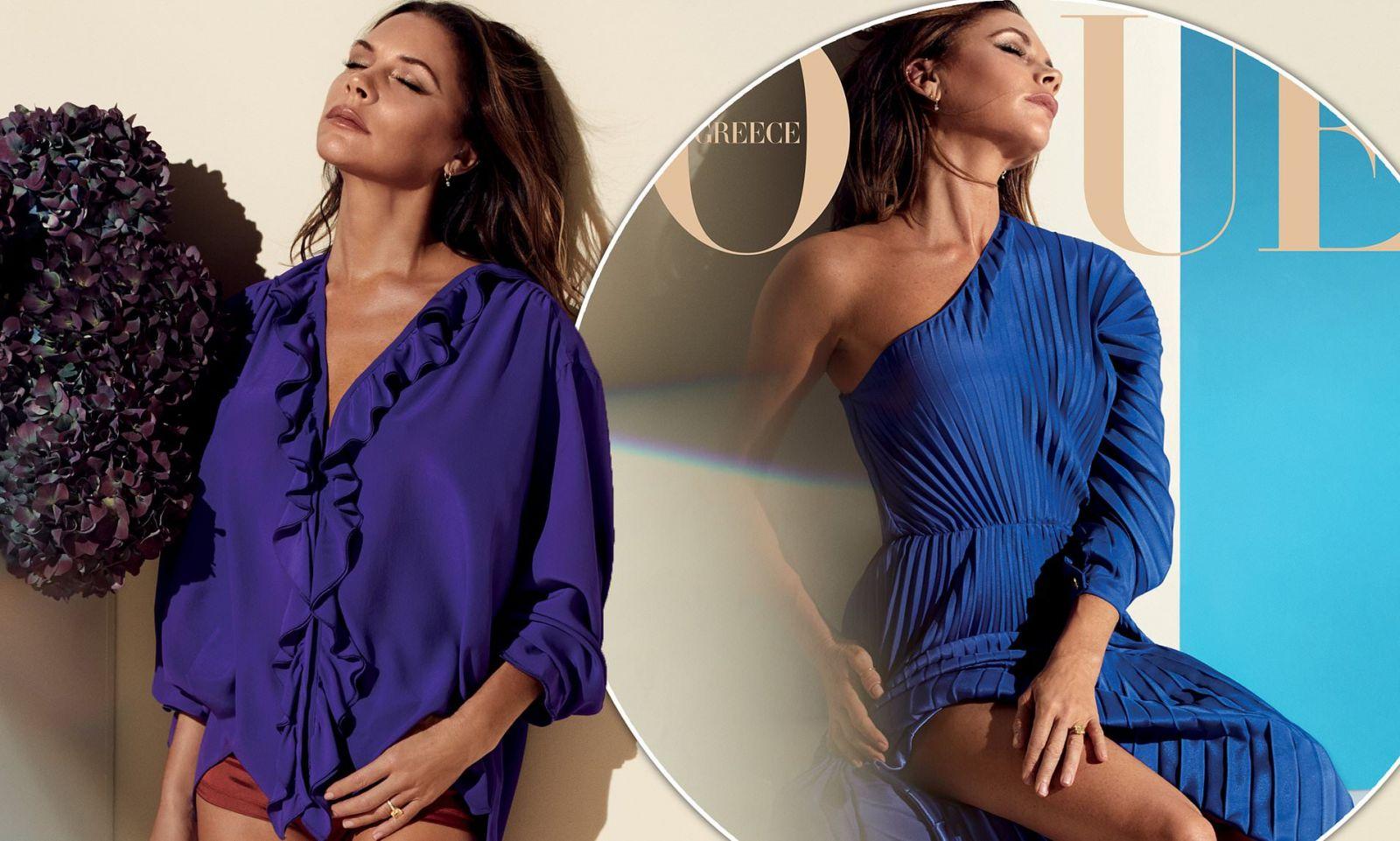 Виктория Бекхэм стала героиней нового выпуска греческого Vogue