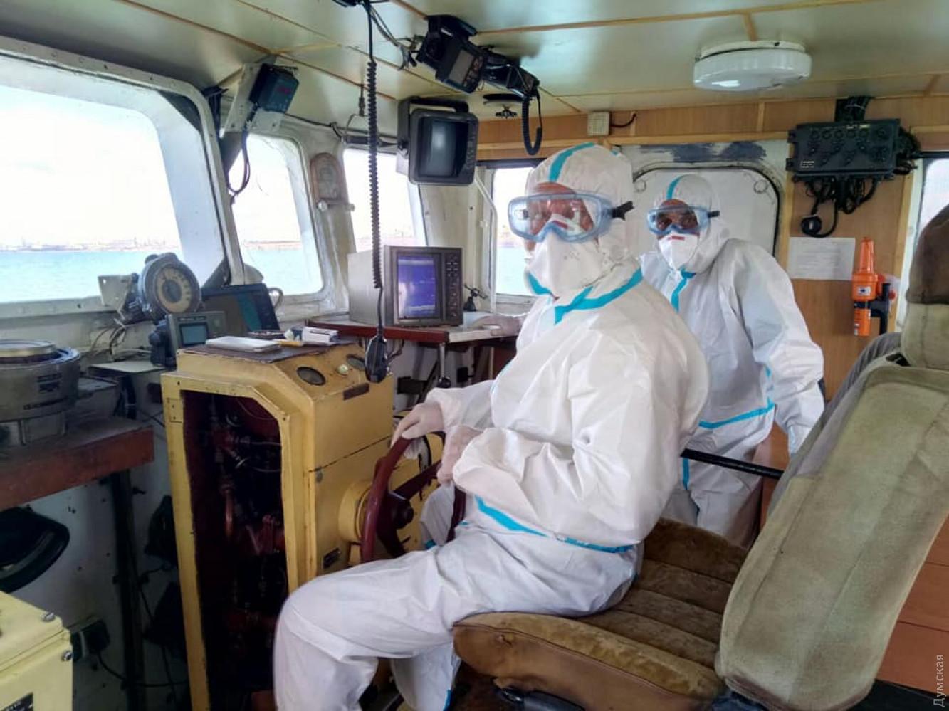На корабле, прибывшем из Египта в Одессу, половина команды больна COVID-...