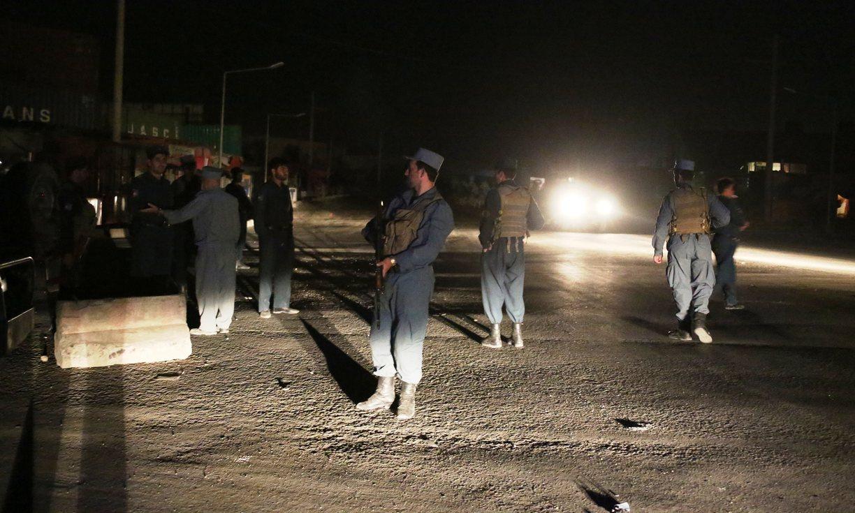 "Боевики ""Талибана"" устроили теракт в Кабуле"