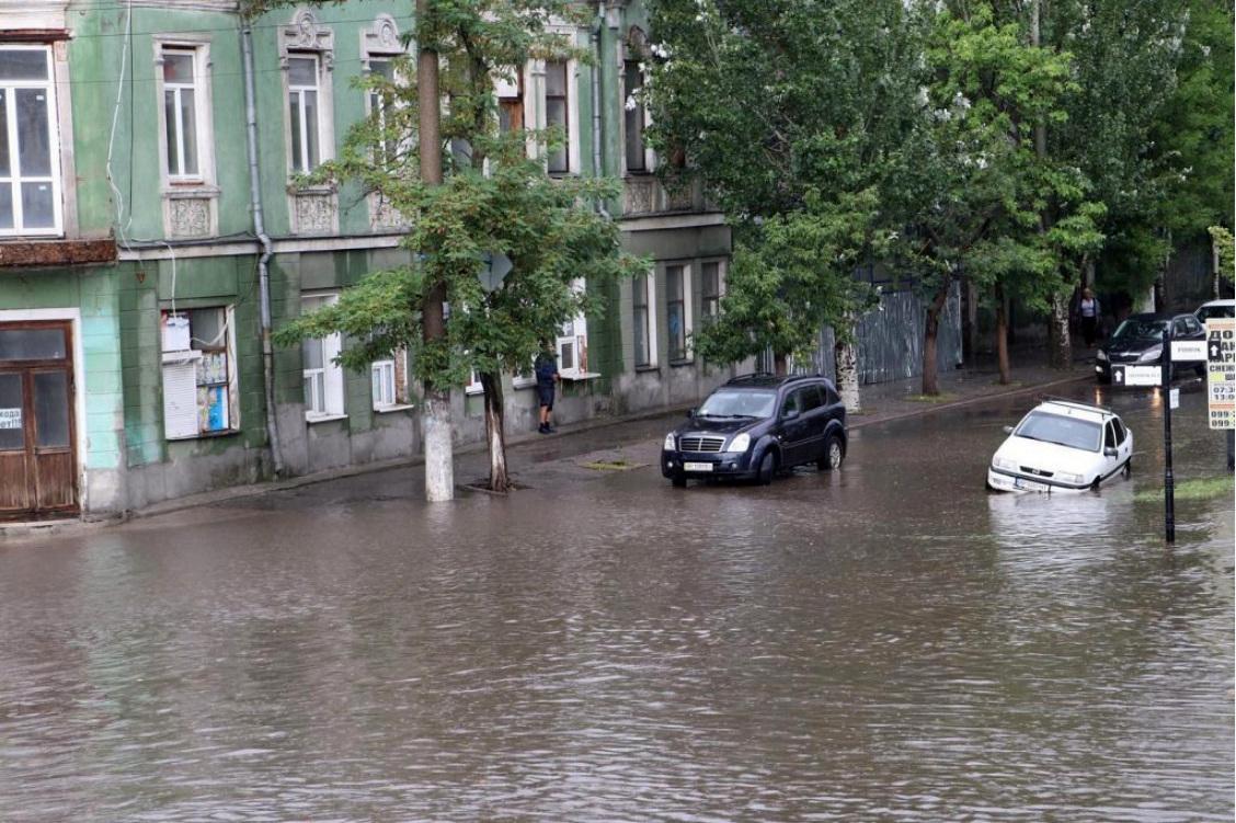 Курортные города Бердянск и Кирилловка ушли под воду