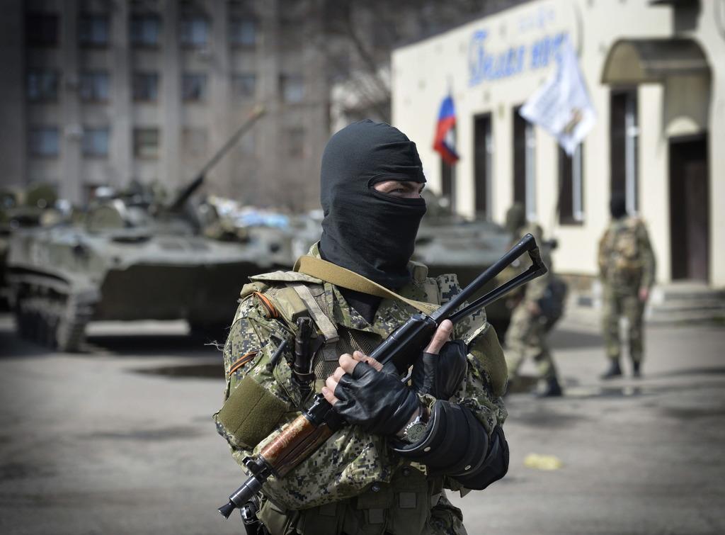 В Донецке боевики избили участников пикета