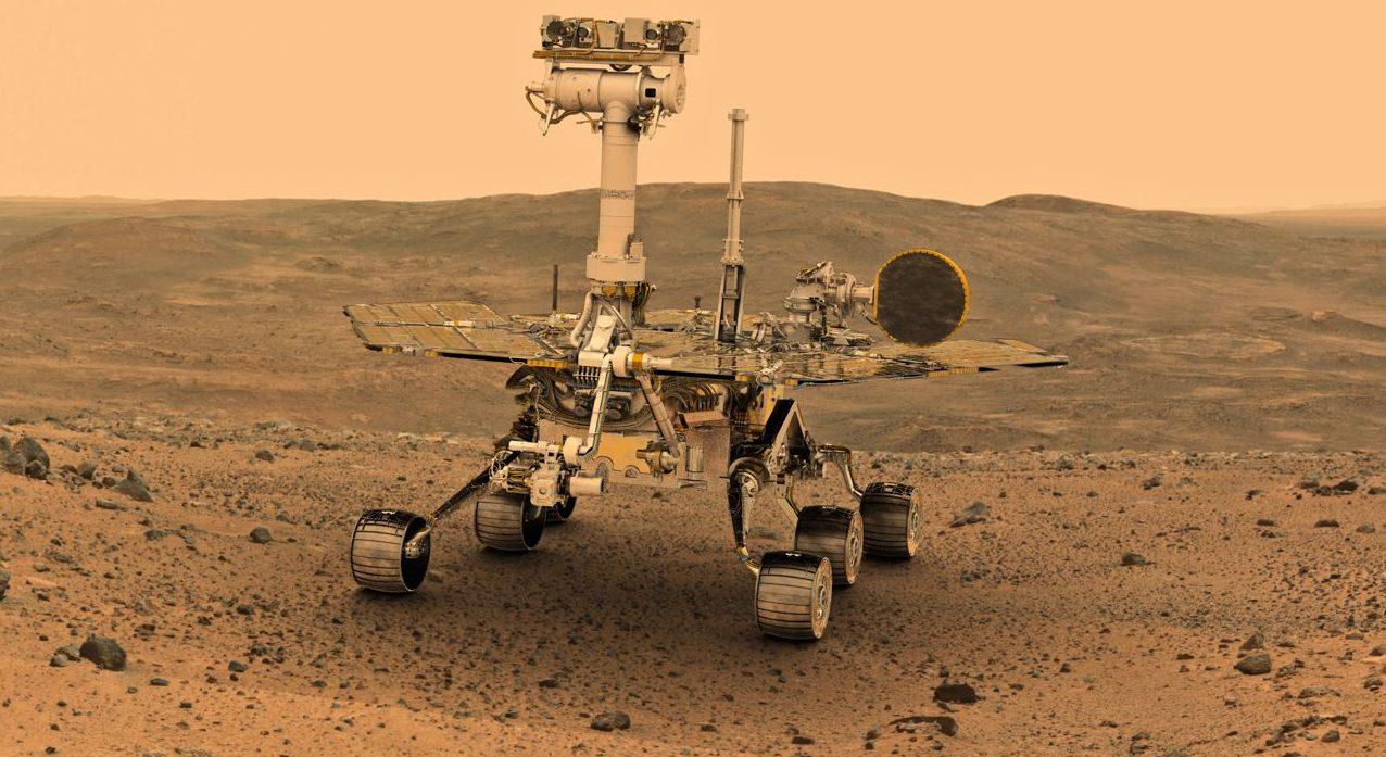 """Последний шанс: NASA пытается """"реанимировать"""" Opportunity перед наступле..."""