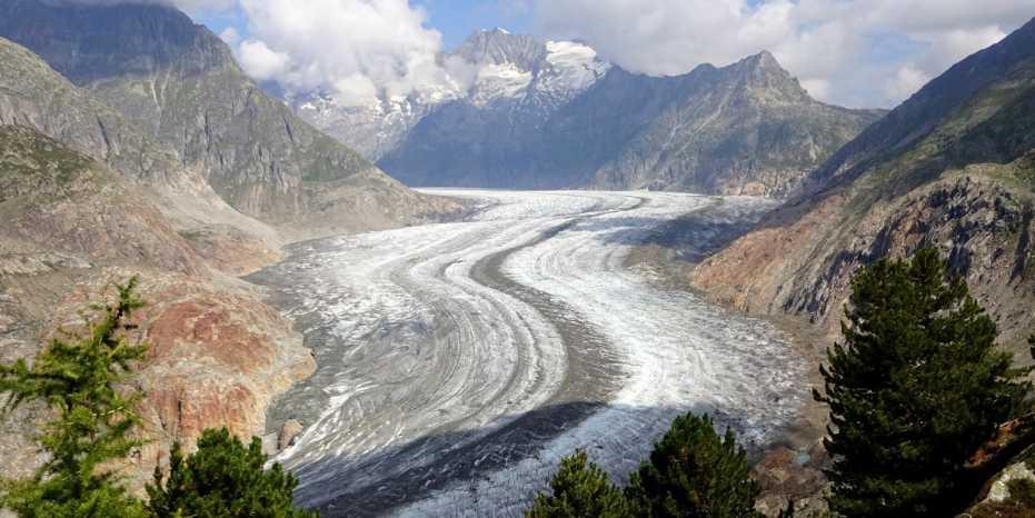 Крупнейший ледник в Альпах может растаять через 80 лет