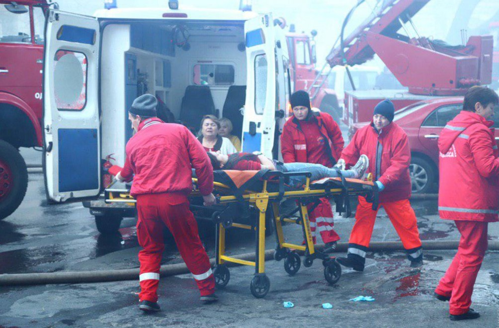 На месте пожара в Одессе нашли тело женщины