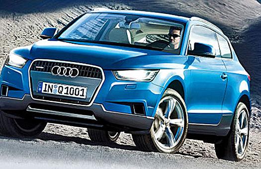 Новые подробности о самых маленьких Audi