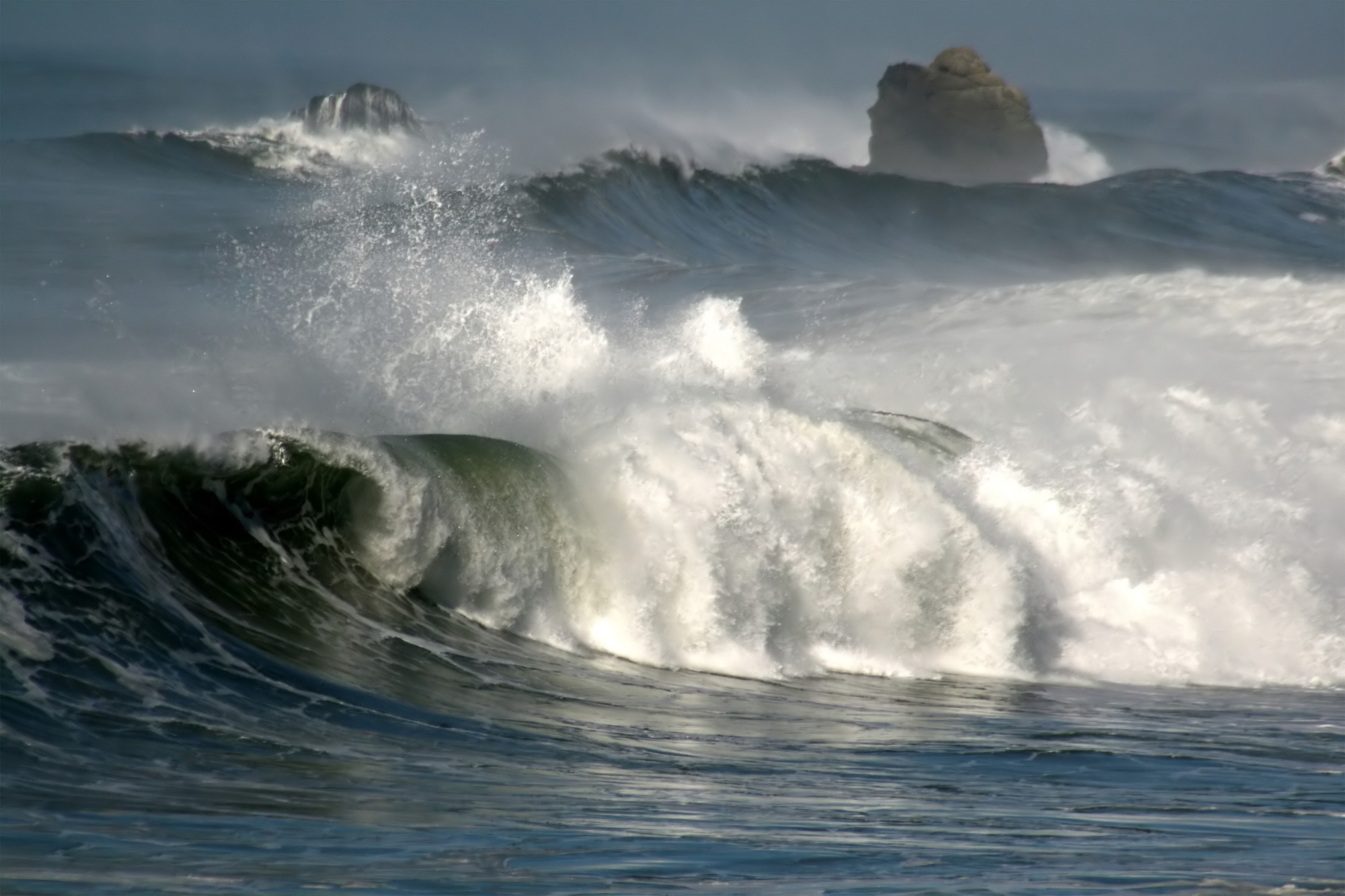 Из-за глобального потепления океаны стали более бурными