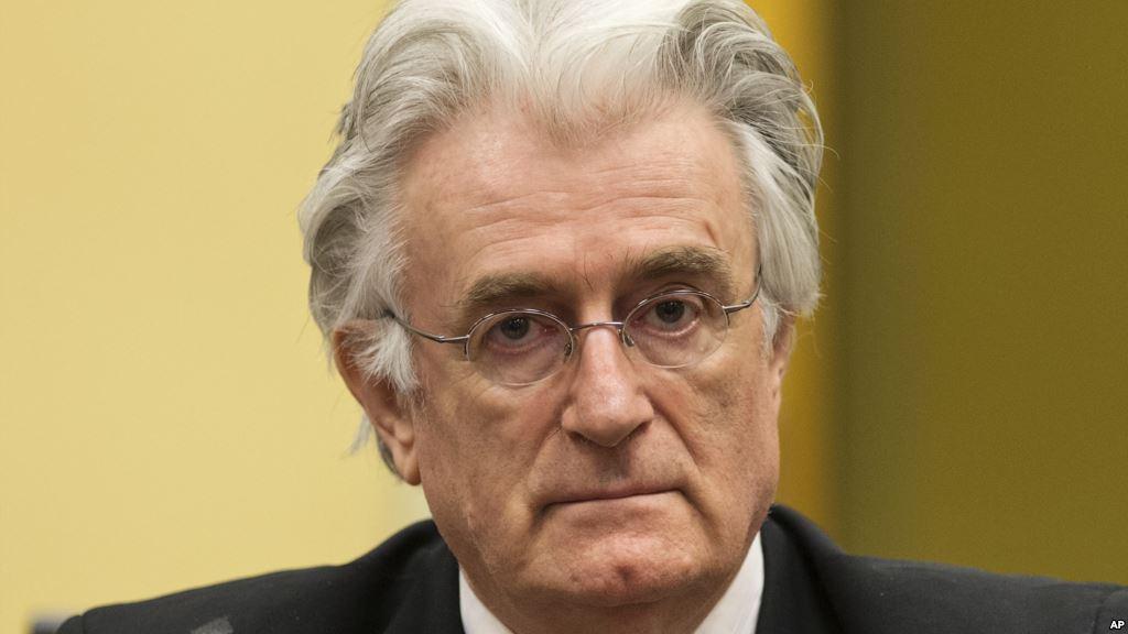 Гаагский трибунал приговорил Караджича к 40 годам тюрьмы