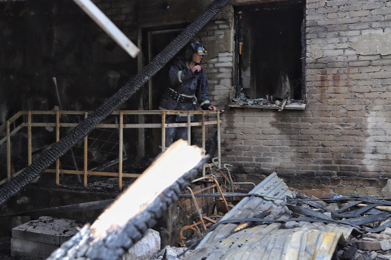Пожар в одесской психбольнице начался в помещении для сушки белья, – ГСЧ...