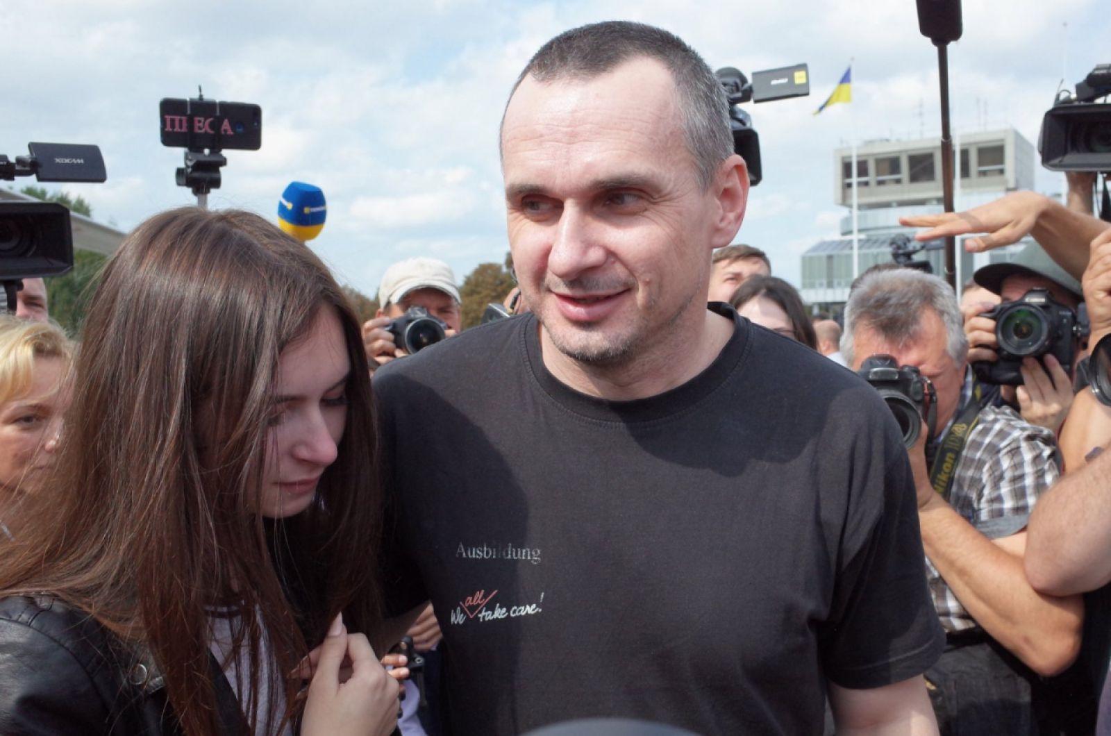 Сенцов согласен пожать руку Путину, чтобы освободить политзаключенных