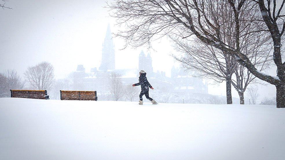 Оттава отменила новогодние празднования из-за холодов