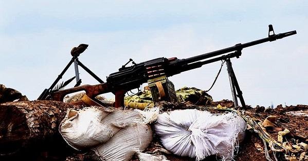 На Донбассе стреляли из гранатометов и пулеметов