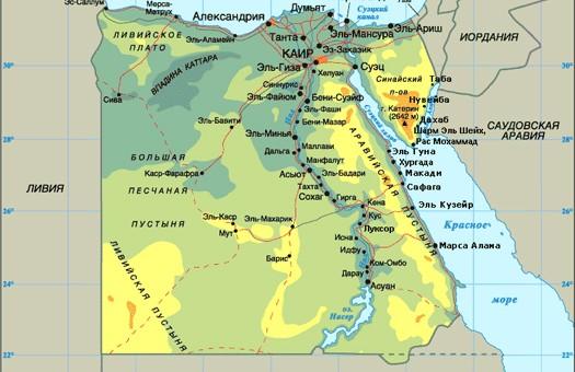 В Египте произошли христианские погромы