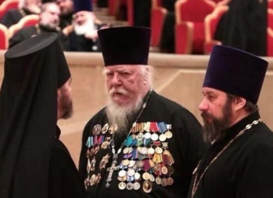 Высокопоставленный священник РПЦ призвал прихожан в Италии не подчинятьс...