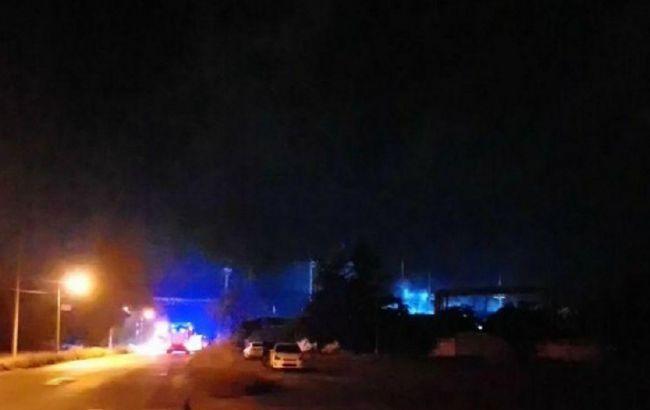На нефтеперерабатывающем заводе в Одессе ночью прогремел взрыв. Близлежа...