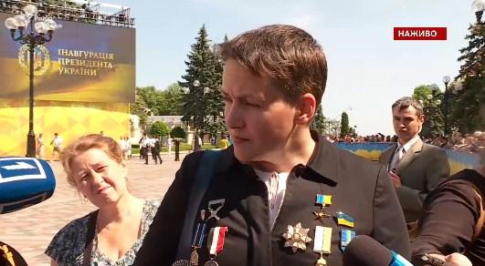 Савченко не пустили агитировать на оккупированную территорию
