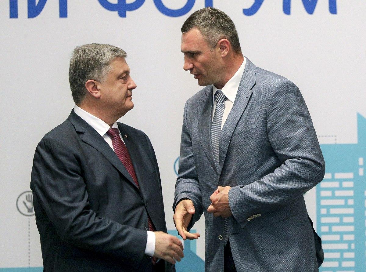 Кличко обогнал Порошенко в рейтинге 100 влиятельных украинцев