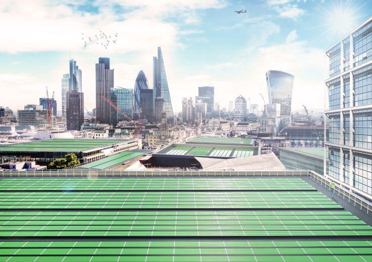 В Лондоне появятся бионические насаждения для очистки воздуха от углекис...
