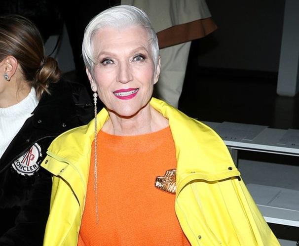 Мэй Маск сходила на Неделю моды в Нью-Йорке и рассказала о своем модельн...