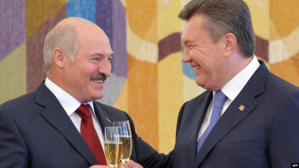 "Лукашенко о Януковиче: ""Я ему простил все"""