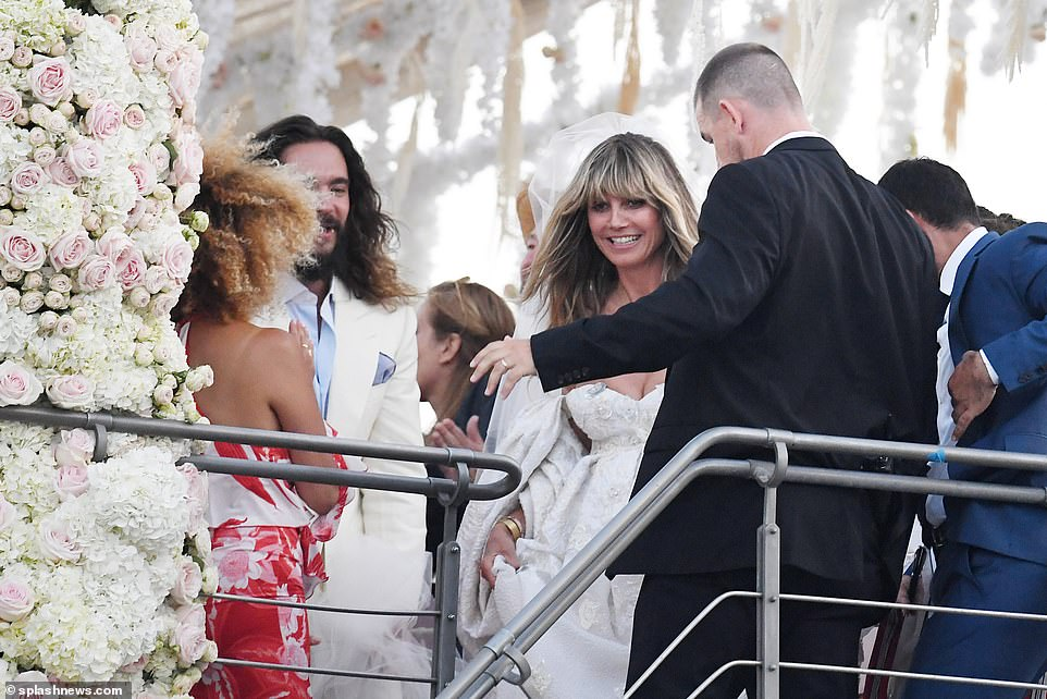 Церемония на яхте: как прошла итальянская свадьба Хайди Клум и Тома Каул...