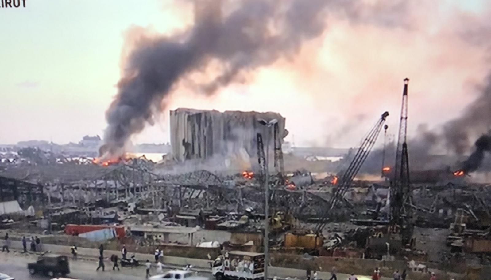 В Бейруте есть травмированные и потерявшие имущество украинцы, – посол
