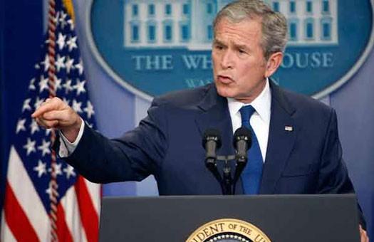Буша увековечат в бронзе