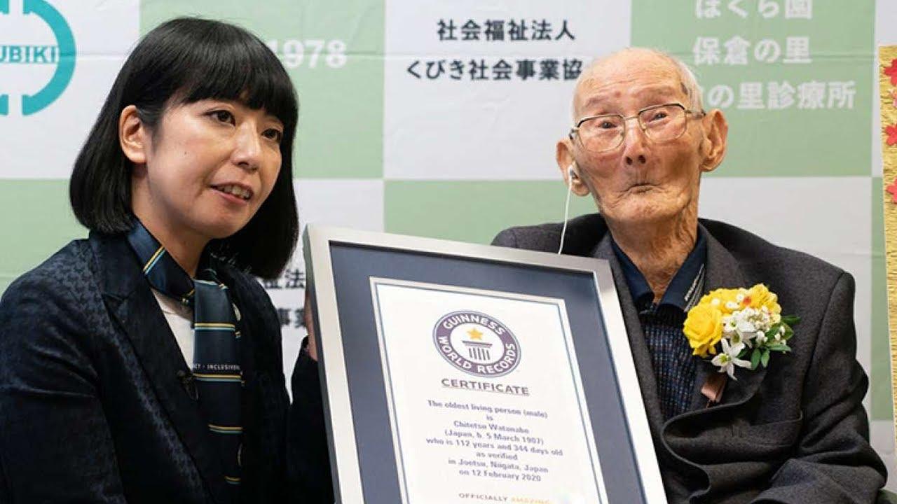 В Японии умер старейший мужчина Земли