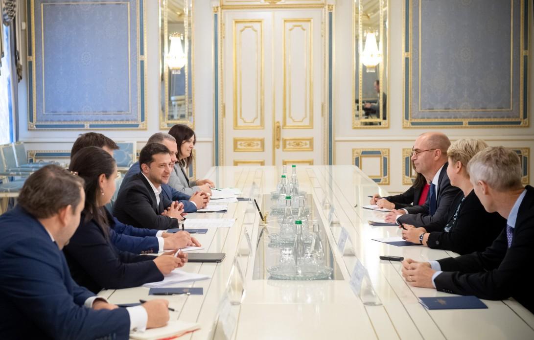 Зеленский обсудил с МВФ реформы в Украине