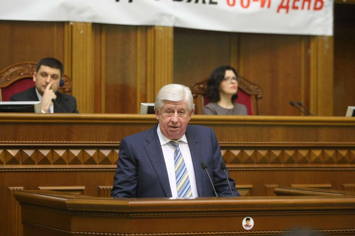 Шокин раскритиковал расследование преступлений против Майдана