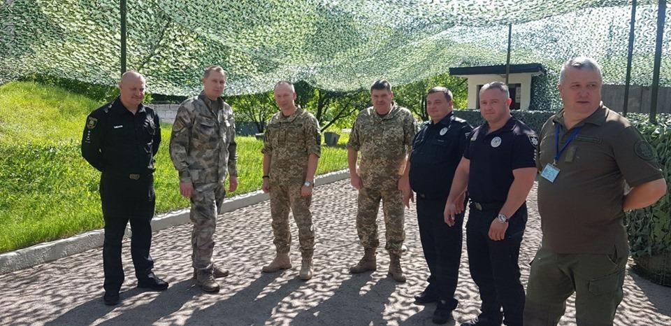 Экс-глава полиции Киевской области возглавил полицейских в зоне ООС