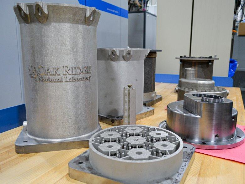 Американские ученые придумали, как напечатать ядро ядерного реактора на...
