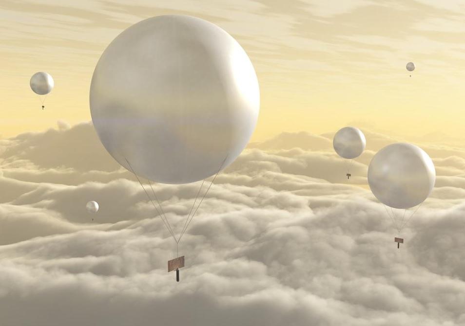 Ученые предлагают отправить на Венеру воздушные шары