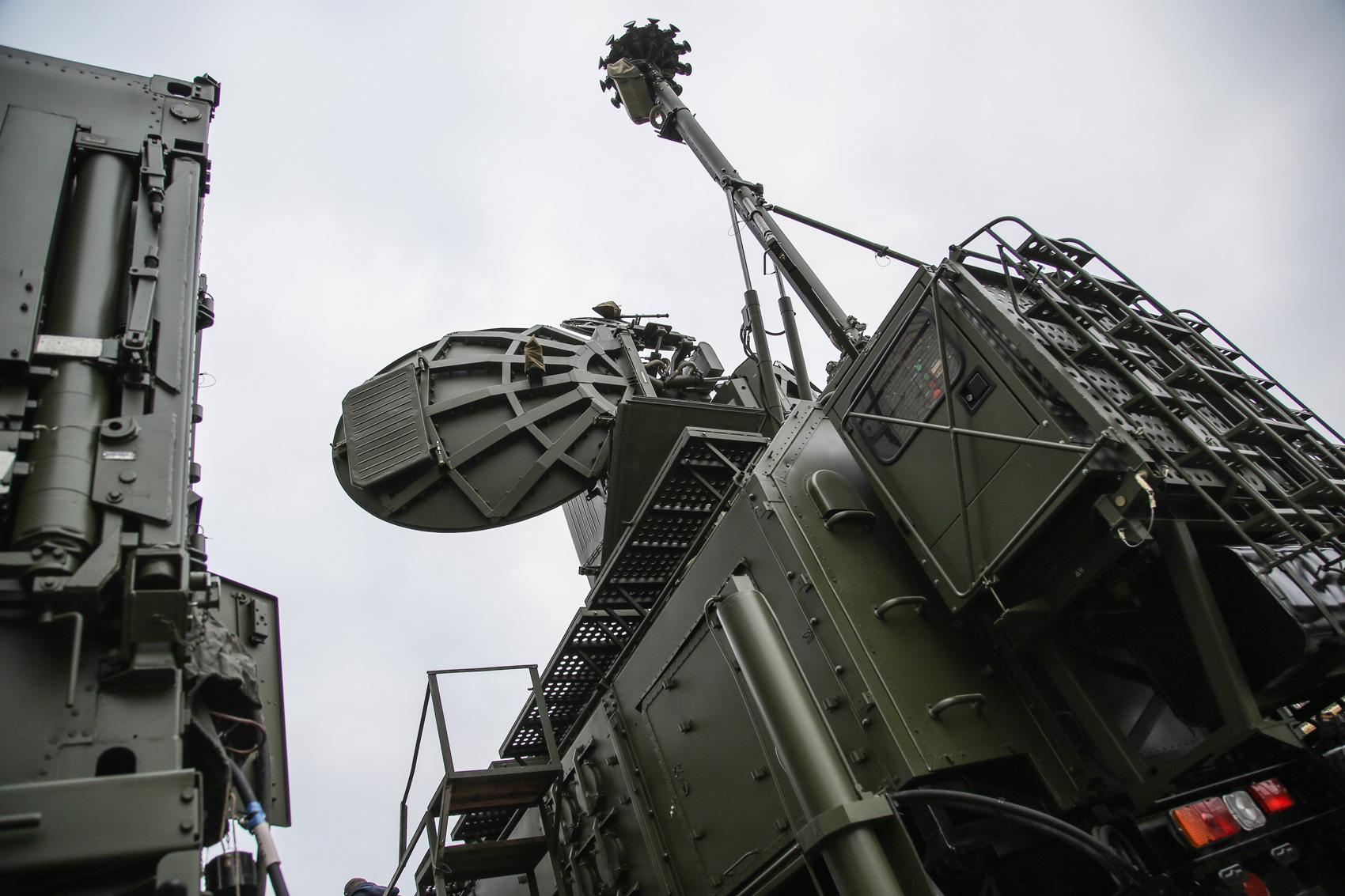 """Россия использует в Сирии новейшие системы радиоэлектронной борьбы """"Крас..."""