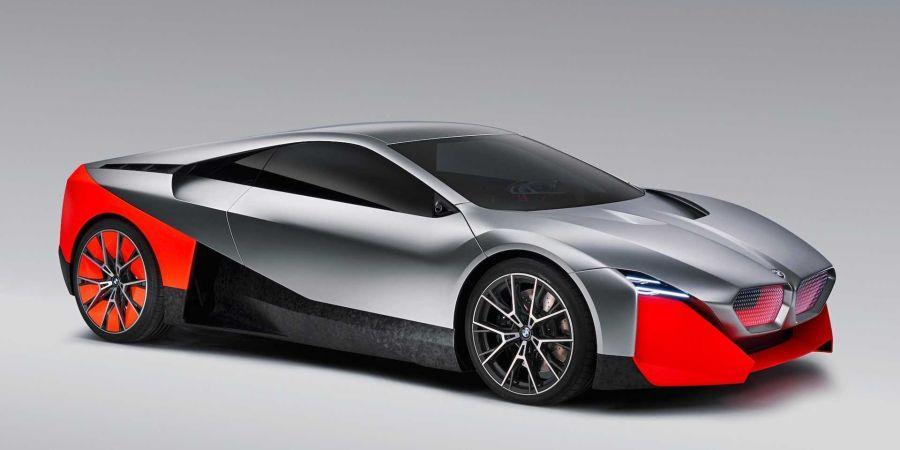 BMW показал гибридный электрокар будущего с беспилотными функциями