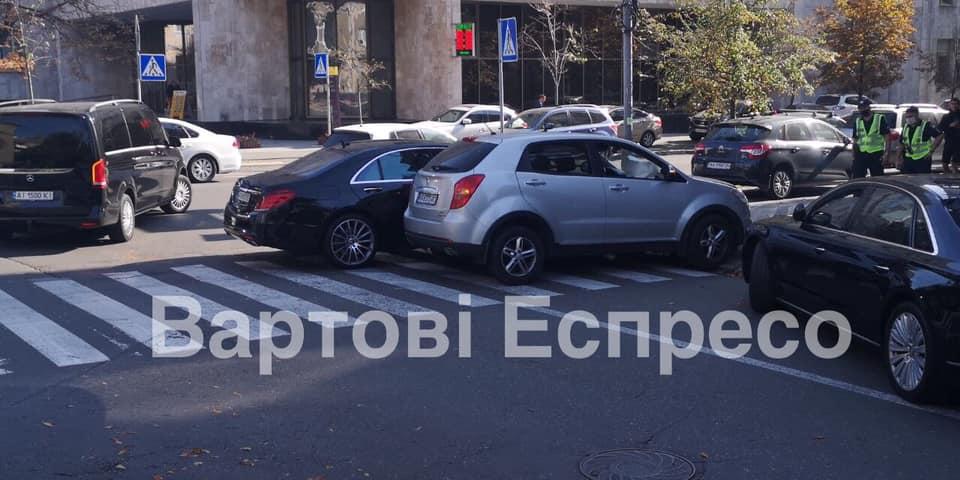 Нестор Шуфрич-младший опять попал в ДТП в Киеве