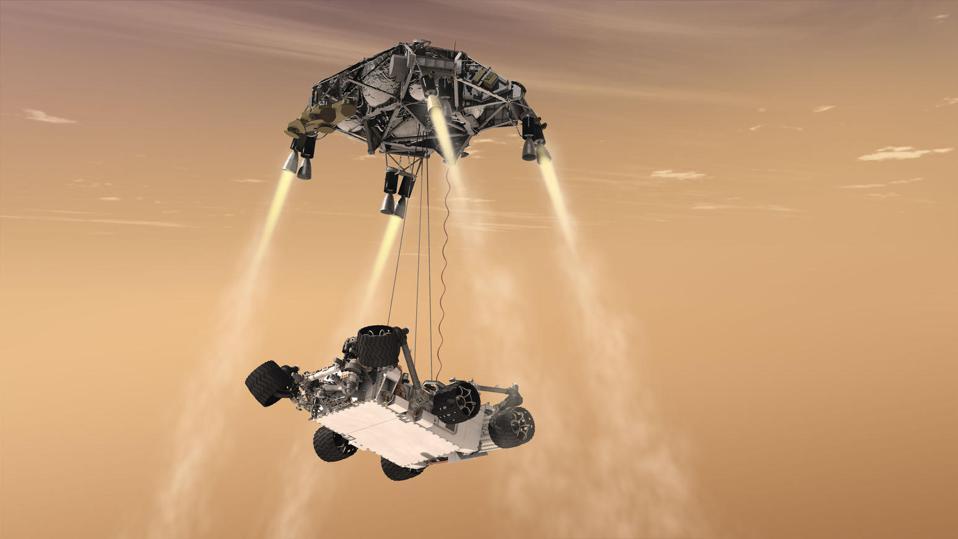 Марсоход Perseverance сможет записать, как звучит Марс