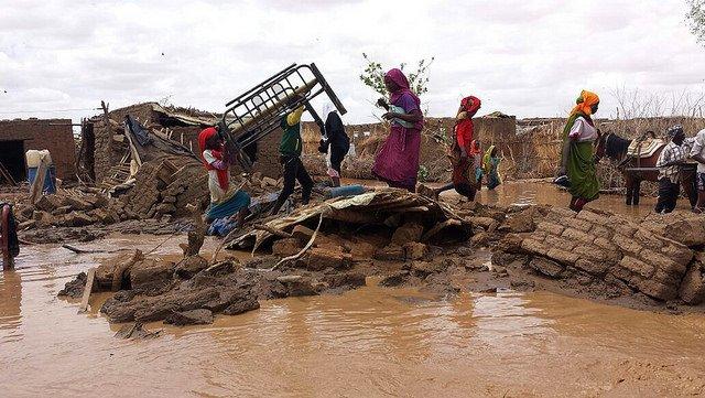 Более сотни людей погибли в Судане в результате наводнения