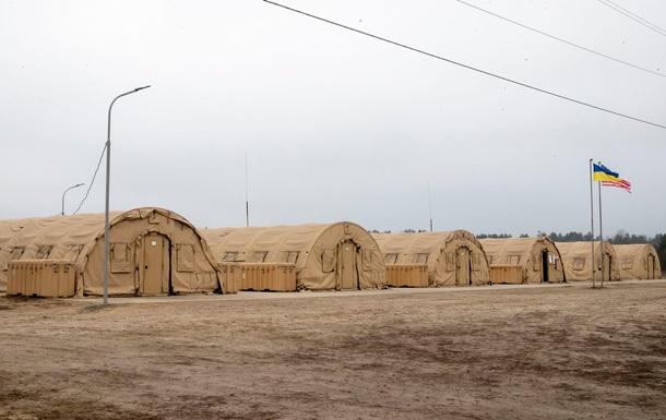 США передали Украине палаточный городок за 1,5 миллиона долларов