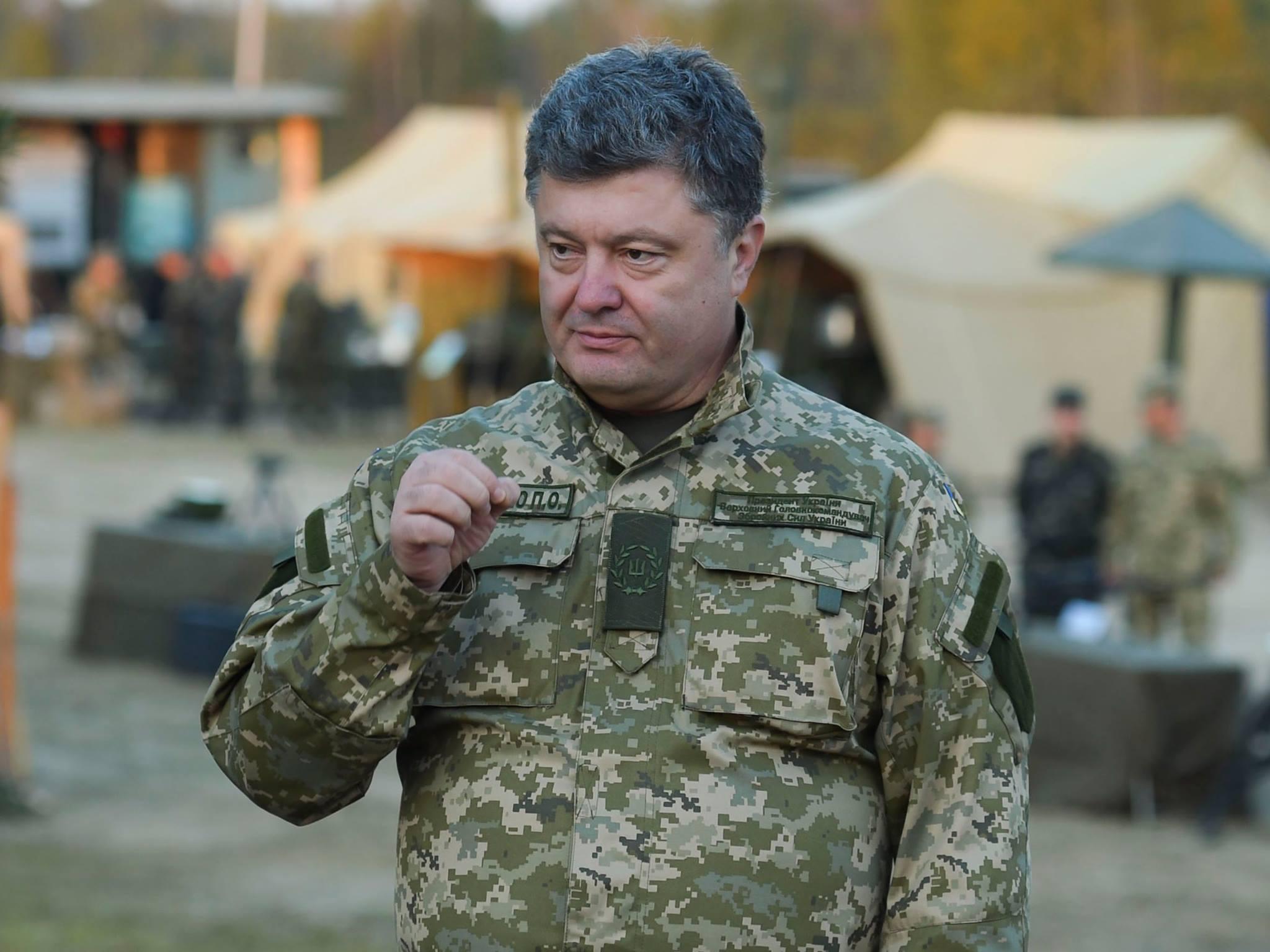 Порошенко в Минске потребует мира без каких-либо условий