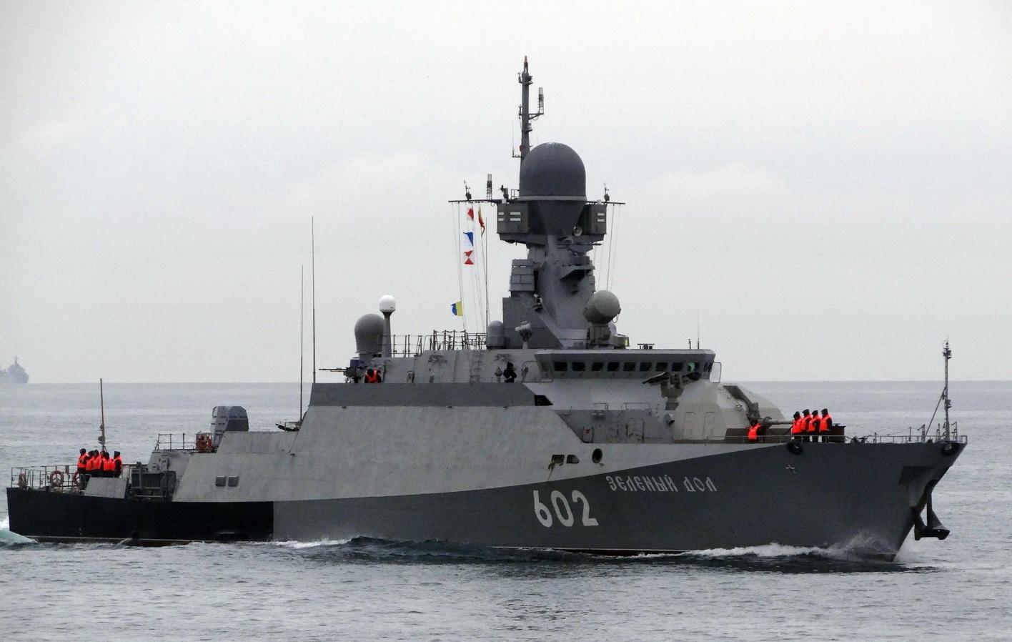 Россия развернула учения в Средиземном море