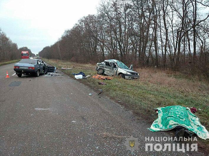 В Черниговской области в ДТП погибли три человека