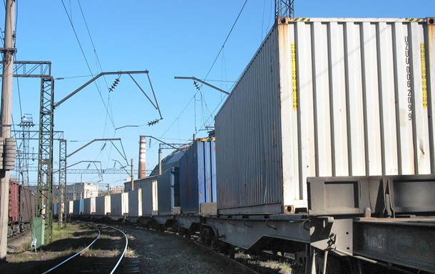 Через Украину начал курсировать контейнерный поезд из Китая в Словакию