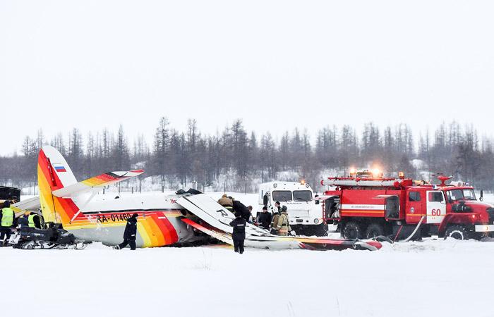 В России разбился самолет: четыре человека погибли