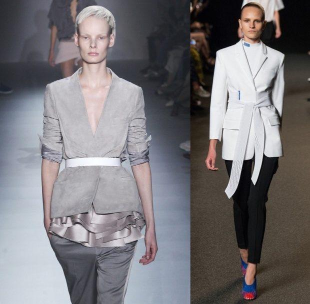 Приталенный пиджак, мода 70-х, фото, женский пиджак, модные тренды, весна-лето 2020