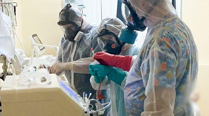 В Александровской больнице Киева переполнена реанимация, – главврач