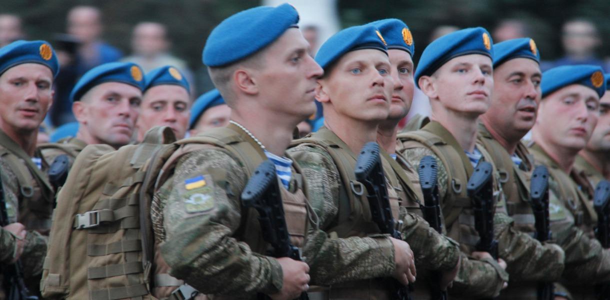 В Украине сегодня отмечают День ВДВ