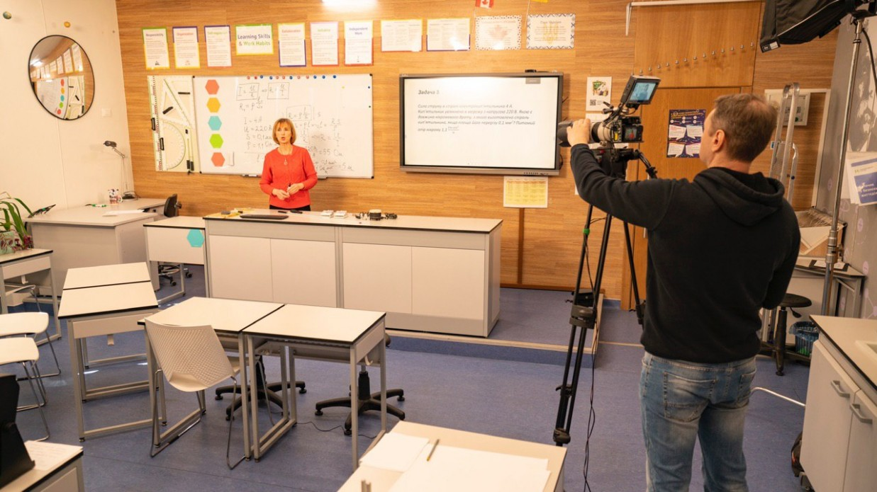 Украинским школьникам расскажут о новом коронавирусе